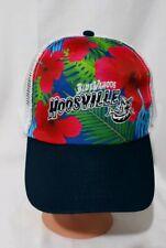 Pensacola Blue Wahoos Baseball Cap Tropical Print Hoosville Mesh Back Adjustable