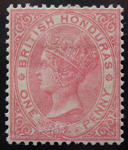 Br. Honduras Scott # 14, Mint Original Gum (HR)