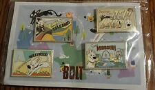 Disney Bolt PostCard pin set Mittens DSSH Soda Fountain LE Rare VHTF LE 150