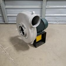 Chicago Blower Co Model 1000 Cast Aluminum Pressure Blower 787cfm 190 460vac 3ph