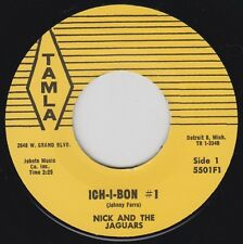 "NICK & The JAGUARS Ich-I-Bon TAMLA Re. 7"" 45 Razor Edge 1957 Rockin' Instro HEAR"