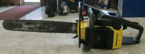 """ProMac McCulloch Pro Mac 610 Chainsaw & Case ~ 20"""" ~  Tested Working -Runs Good"""