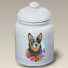 Australian Cattle Dog Ceramic Treat Jar Tp 47072