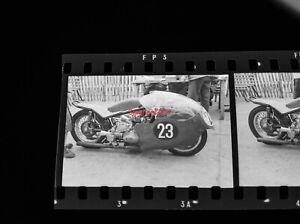 14 Negatives ISLE OF MAN TT RACE VINTAGE MOTORCYCLE Sidecar BMW BSA 11/6/1961