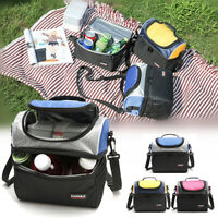 Portable Lunch Box Bag Tote Hot Cold Insulated Thermal Cooler Travel Work School