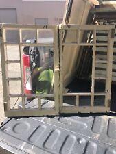 vintage pair c1900 Queen Anne window frame casement pattern doors 26.25/16�
