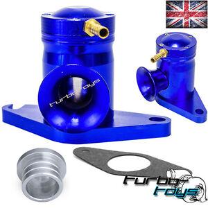 SUPERSONIC ATMOSPHERIC BLOW OFF DUMP VALVE fit IMPREZA 1-15 TURBO WRX STI BLUE