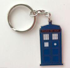 Officiel doctor who tardis bleu police box métal porte-clés-neuf