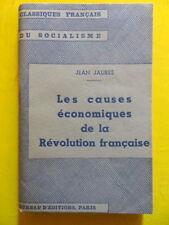 Jean Jaurès Révolution Française 1937 Coll. Classiques Français du Socialisme