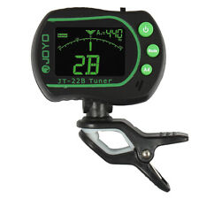 Joyo Digital 430Hz - 450Hz Clip on Tuner with Built-in MIC for Violin and Guitar