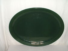 "Emile Henry Stoneware Green Serving Platter 19"" 89-48 France"