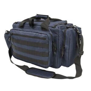 NCStar CVCRB2950G Tactical Competition Pistol Range Carry Case Bag - Blue /Black