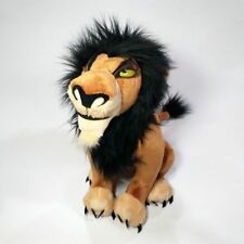 "New Disney Store The Lion King Scar 13"" Plush Stuffed Toy"