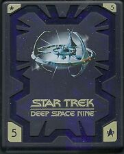 Star Trek Deep Space Nine Season 5 Hartbox Deutsche Ausgabe OOP