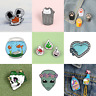 Pin Brooches Potted Plants Gift for Friends Different Hard enamel lapel Bag Hat