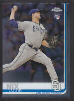 Topps - Chrome 2019 - # 182 Jacob Nix - San Diego Padres RC
