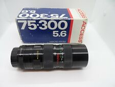 Access Advanced Digital Macro Zoom 75-300 5.6 Camera Lens