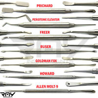 Periosteal Elevator Pritchard  Dental Implant Surgery Instruments Set Of 7
