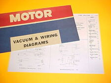 1975 1976 FORD MUSTANG II MACH I GHIA COBRA STALLION 2+2 VACUUM+WIRING DIAGRAMS