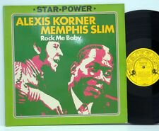 Alexis Korner   /   Memphis Slim          Rock me baby          NM # R