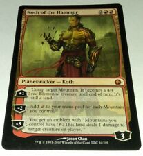 Koth of the Hammer - Scars of Mirrodin - MTG Magic the Gathering
