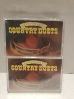 Cornerstone Promotions Presents Classic Country Duets set of 2 sealed cassettes