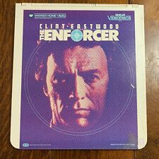 Selectavision Disc ~ The Enforcer ~ Eastwood ~