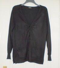 Long Black Cardigan  Size 20