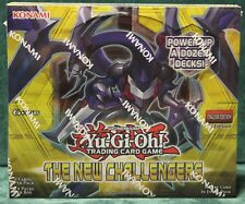 YUGIOH NEW CHALLENGERS BOOSTER BOX 1ST EDITION FACTORY SEALED BRAND NEW