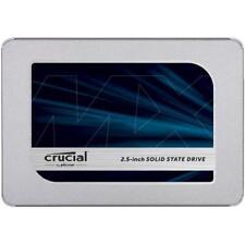 """Crucial Technology MX500 500GB 2.5"""" Internal SSD, SATA III 6Gb/s #CT500MX500SSD1"""