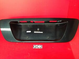 GC 01-07 Mercedes W203 C230 Trunk Lid License Plate Holder Blue  2037500981