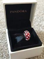 DISNEY Red Polka Dot - Genuine PANDORA Charm