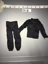 1/6 Scale Modern Black BDU Uniform -  Dragon, Ultimate Soldier, GI  Joe ETC