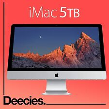 "Nuevo Apple Imac Retina 27"" 5k 4.0Ghz i7 32gb Ram exclusiva 5TB Fusion skylake Mac"