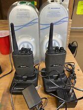 motorola spirit Mu22cv Two Way Business Radio