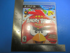 PlayStation 3 PS3 Angry Bird Trilogy Exlusive New Levels Rated E 19 Levels