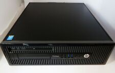 HP ProDesk 400 G1 SFF i3-4130 3.4GHz 8GB RAM 500GB HDD Windows 10 Home