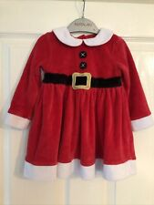F&F Girls Age 9-12 Months Christmas Dress