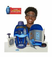 Mega Man Fully Charged – The Mega Buster Transforming Lab Playset with Over T...