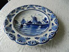 Vintage Delft pottery bowl / dish / wall plaque 2