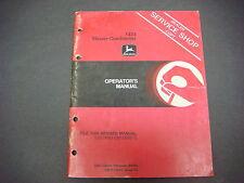 John Deere Operators Manual No.Om-E73044 Issue K31424 Mower-Conditioner M1423