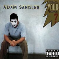 What's Your Name [PA] by Adam Sandler (CD, Sep-1997, Warner) Free Ship #IM72