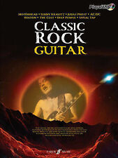Classic Rock Guitar Authentic Play-Along Music Book CD Anthems Tab Notes S79