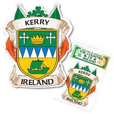 Kerry Ireland County Decal Sticker Irish GAA Auto