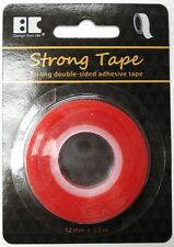 Strong Tape - Red line Double sided tape - Perfect for Glitter Paper