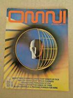 OMNI Magazine Sept 1984 Science Fiction AI Psychic Power Einstein Princeton Lab