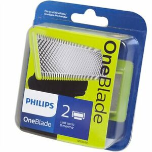 Philips OneBlade Replacement Heads - Double/Twin Refill Pack (2 PACK) - QP230/50