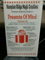 Presents of Mind Vol 2 VHS Video Tape Anthony Lindan