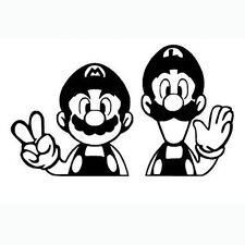 Decal Vinyl Truck Car Sticker - Video Games Super Mario Luigi