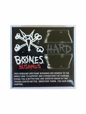 Bones Hardcore Skateboard Black Bushings Hard 96a, Two Sets